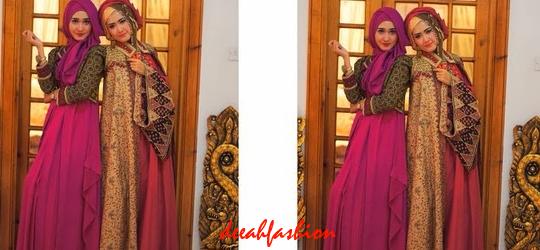 Gaya Jilbab Etnik Untuk Pesta Kondangan