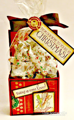 Stamps - Our Daily Bread Designs Christmas Door/Baking Tag Set, Box cut with the Silhouette