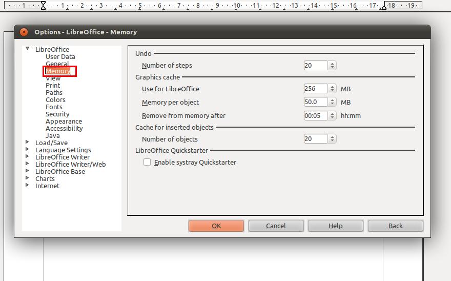 Mempercepat StartUp Libre Office