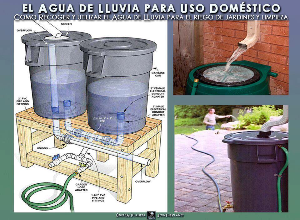 Mriverpel el agua de lluvia para uso dom stico - Recoger agua lluvia ...