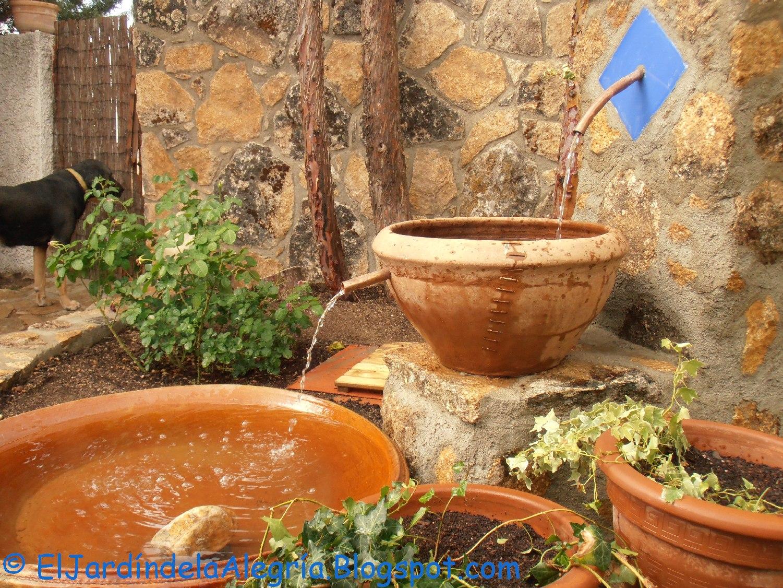 El jard n de la alegr a agua c mo instalar una bomba for Bomba para fuente de jardin