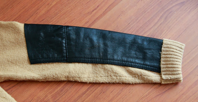 DIY Clothing : Revive Old Sweater With Touch Of Leather