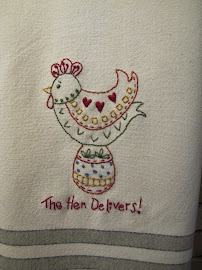 Kitchen Towel Handwork