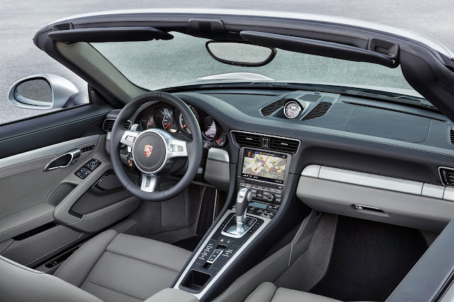 2014 Porsche 911 Turbo Cabriolet interior