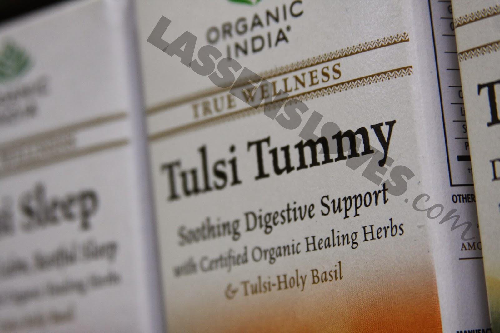 Organic+India, Tulsi+Tummy, Digestive+Aids