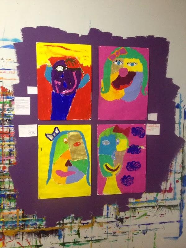 Atelier Katha Kindervernissage Kinder Stellten Ihre Werke Die Im
