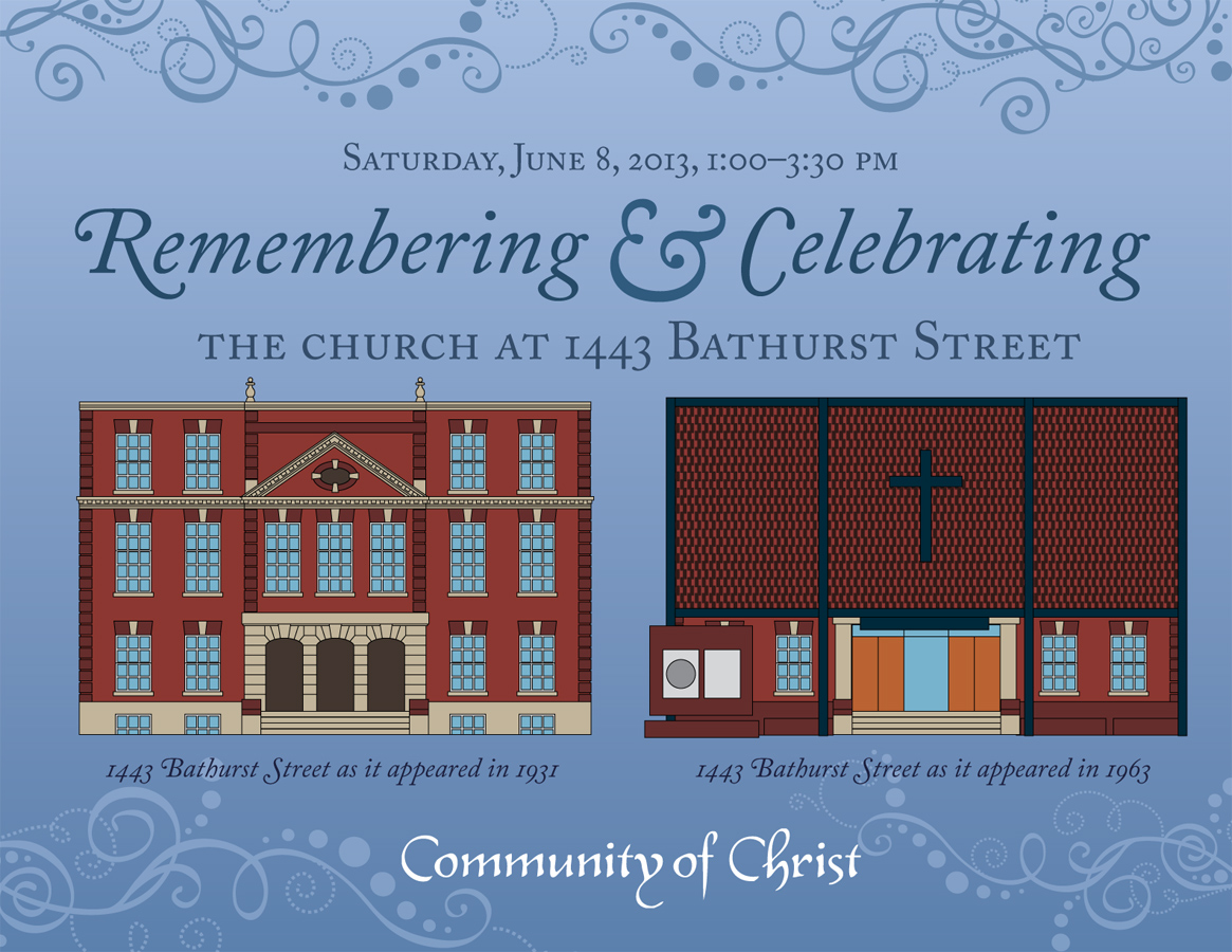For Over Eighty Years The Downtown Toronto Congregation Of Community Christ Has Met In Its Historic Home At 1443 Bathurst Street This Year Marks