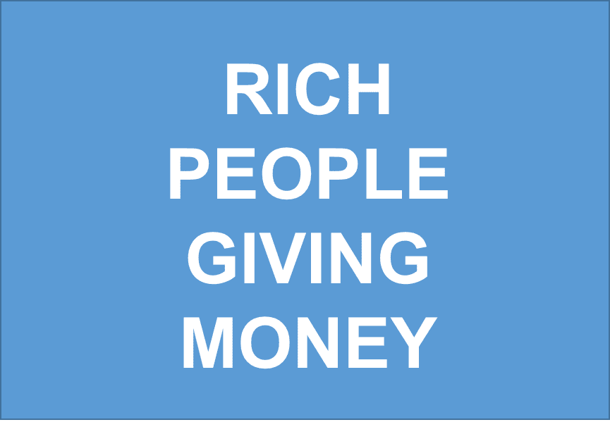 People Giving Money Away Millionaires Giving Mo...