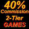 40% Commission Games