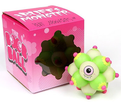 The Boob Ball Glow in the Dark Vinyl Figure by Buff Monster