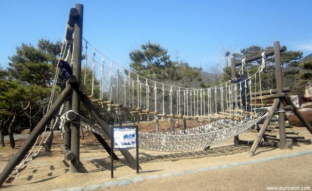 Juegos coreanos al aire libre