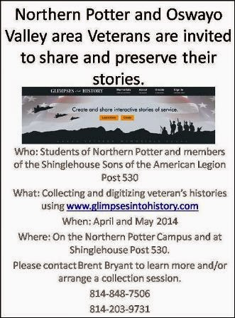 Veterans: Share & Preserve Your Stories