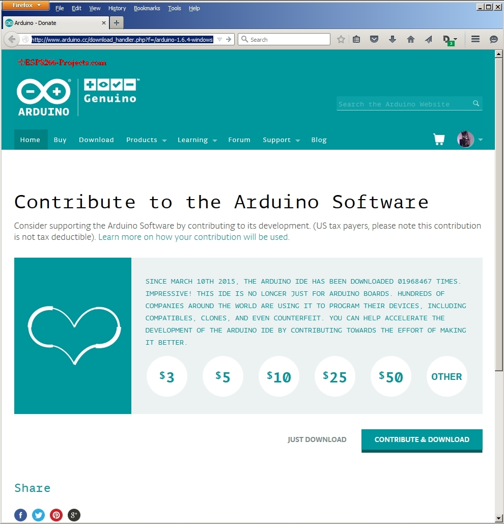 Free download arduino portable