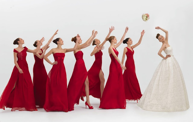 Grandiosos vestidos de damas de honor | Moda y Tendencia