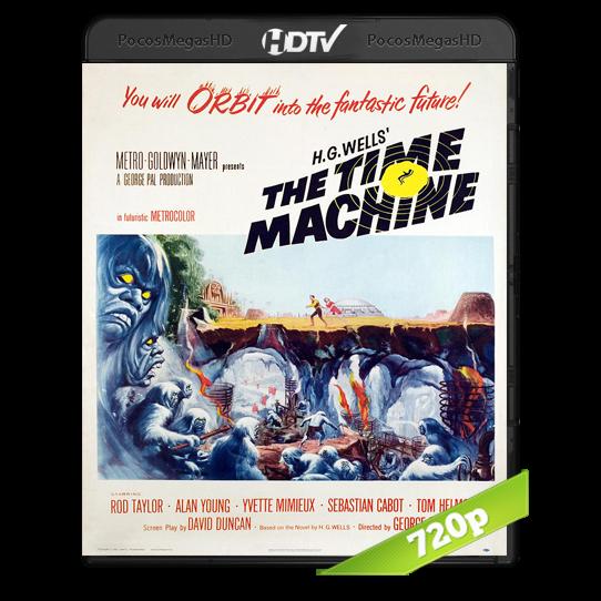 El tiempo en sus manos (1960) HDTV 720p Inglés AC3+subs