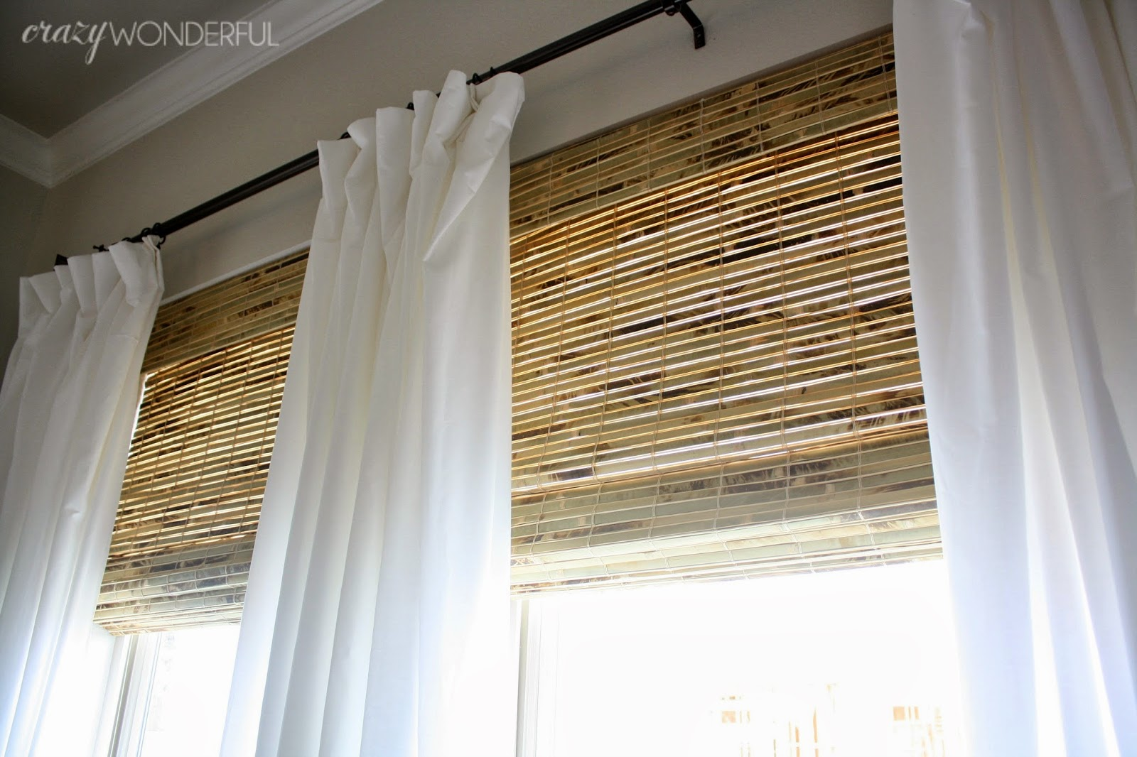 Bamboo roman shades crazy wonderful Curtains and blinds