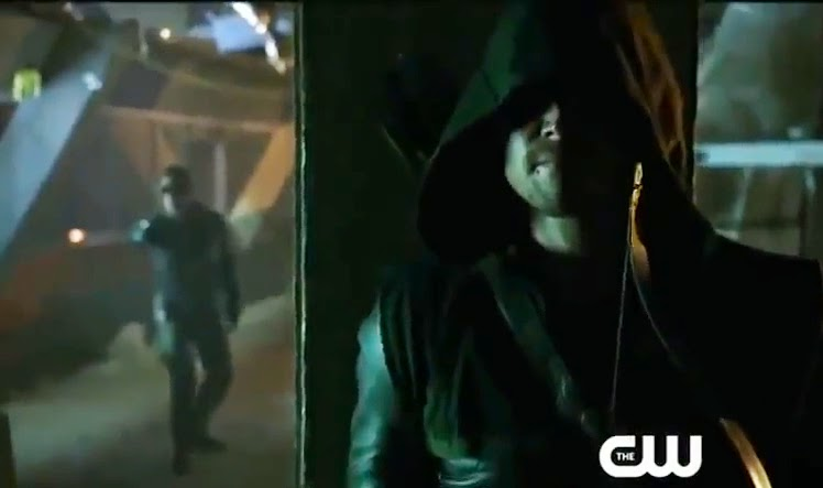 Arrow Lone Gunmen screencaps Oliver Queen Deadshot Stephen Amell