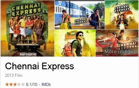 Chennai Express - Film India (Bollywood) Terbaik Dan Terpopuler Sepanjang Masa
