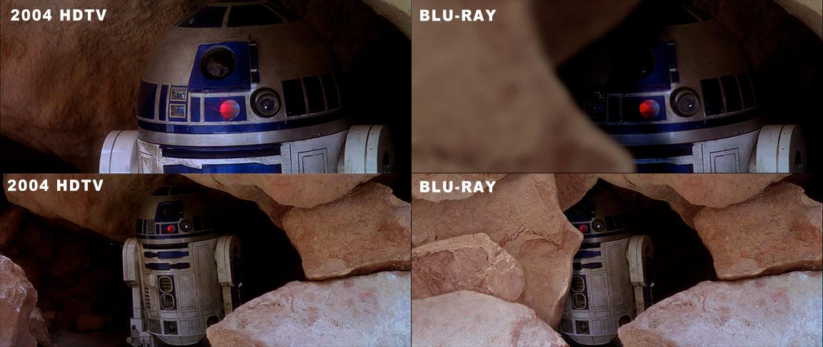 After Watching The Original Star Wars In HD Rebrncom - Scenes original star wars created cgi