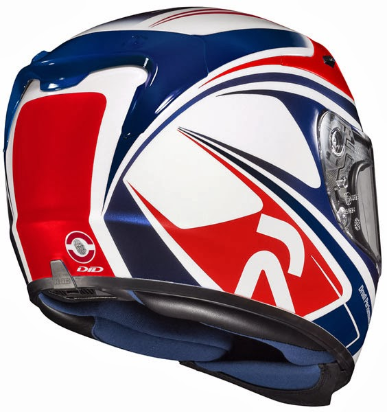 HJC Zappy Pegram MC-5 Full Face Motorcycle Helmet