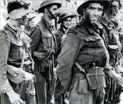 Униформа и снаряжение британского коммандоса, 1944-1945 гг. 010077_01