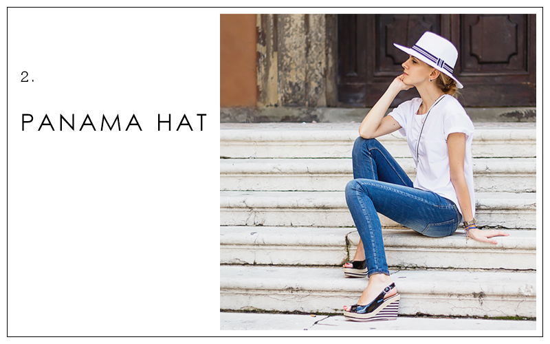 panama hat, summer accessories