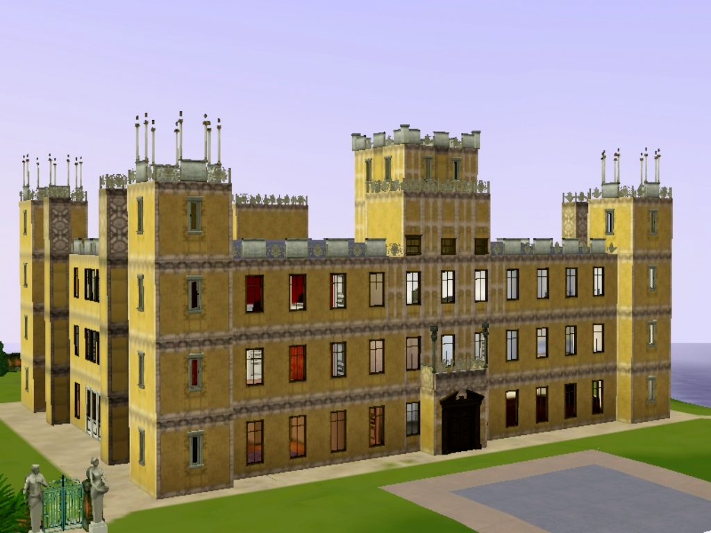 Simiansims Downton Abbey Highclere Castle