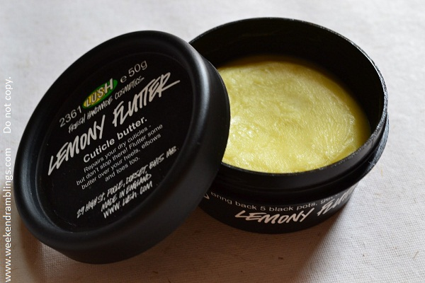 Lush Skincare Hand Cream Lemony Flutter Cuticle Butter Reviews Ingredients Natural Organic