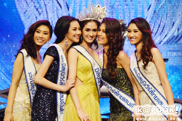 Miss Universe Thailand 2012 winner Farida Waller