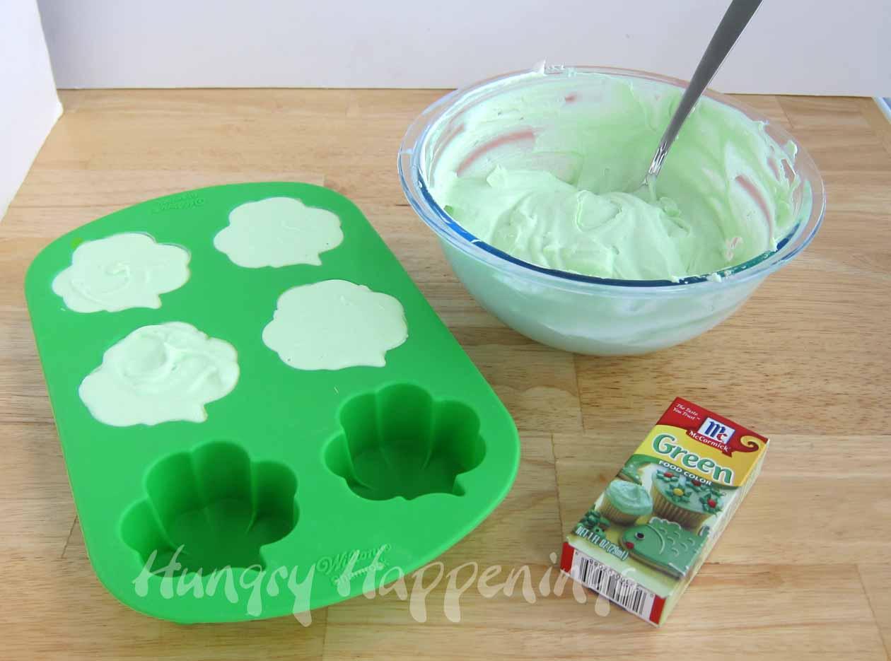 Recipes To Celebrate St. Patrick\'s Day- Shamrock Semifreddo