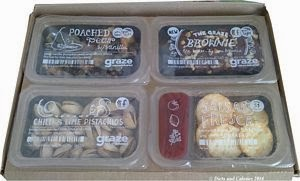 Graze snack box brownie box