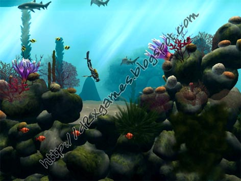 Free Download Games - Dive The Medes Islands Secret