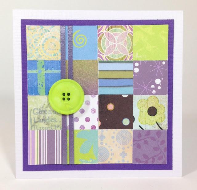paper mosaic handmade greeting card lisa fulmer