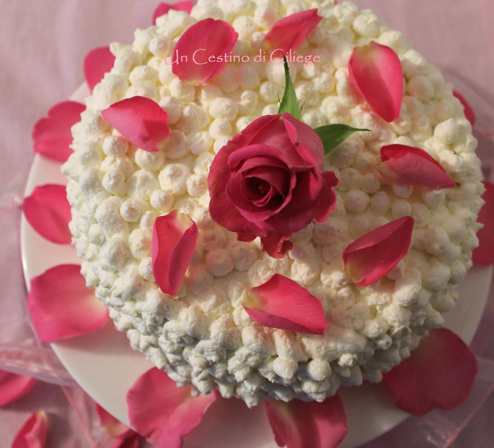 White Rose Cake!