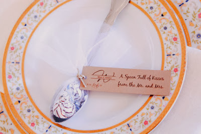 Spoon full of kisses Wedding Favor
