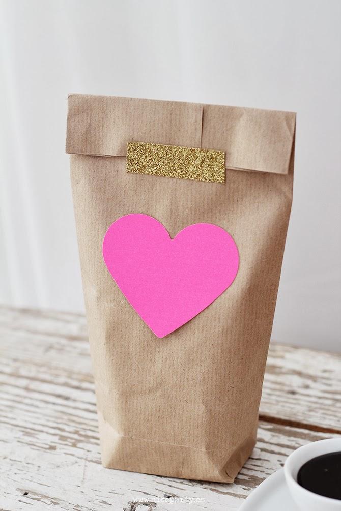 envolver regalo san valentin