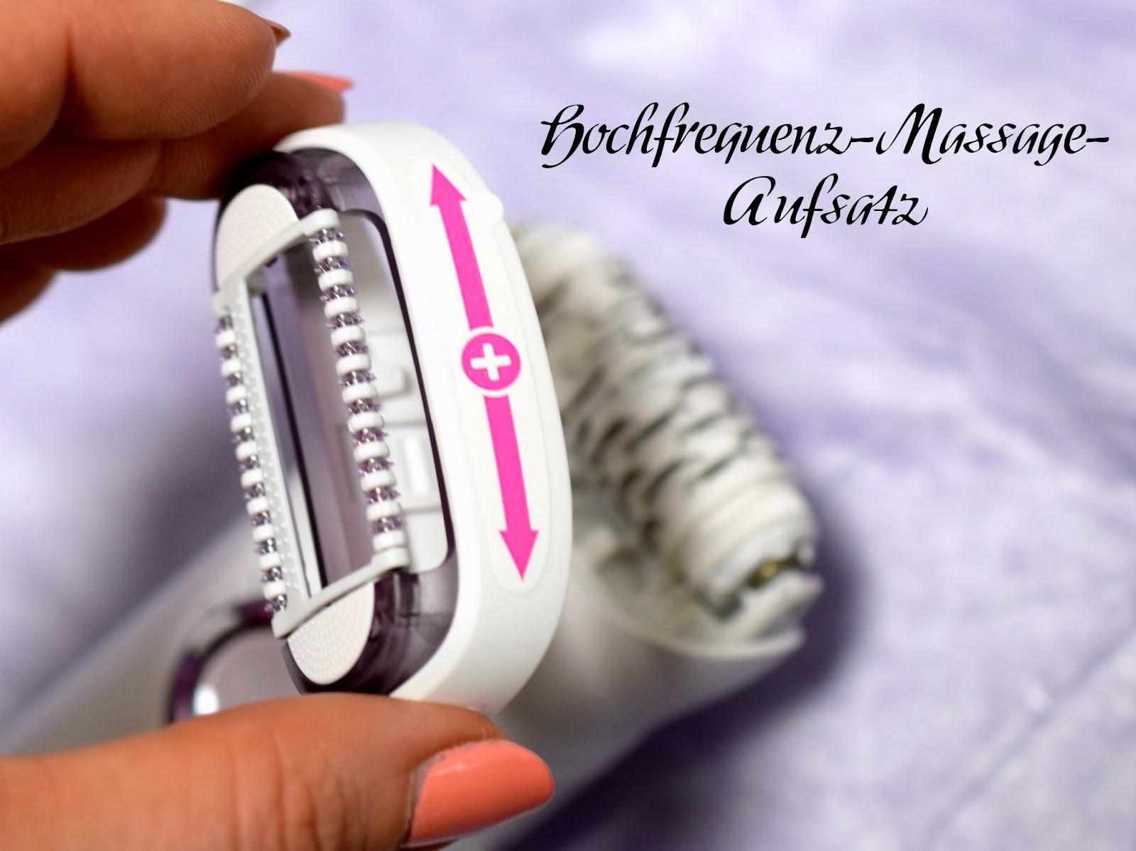 Hochfrequenz Massageaufsatz Braun Silk-épil 9 SkinSpa Epilierer
