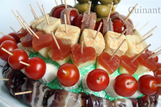 Ideas aperitivos frios receto for Canapes faciles y rapidos frios
