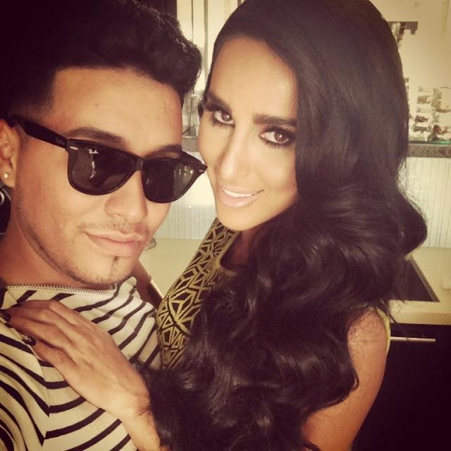 Lilly Ghalichi Boyfriend Ali Lilly ghalichi and hairstylist