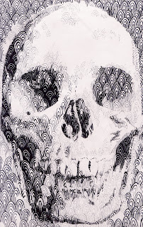 a skull made of patterns by TonyMark