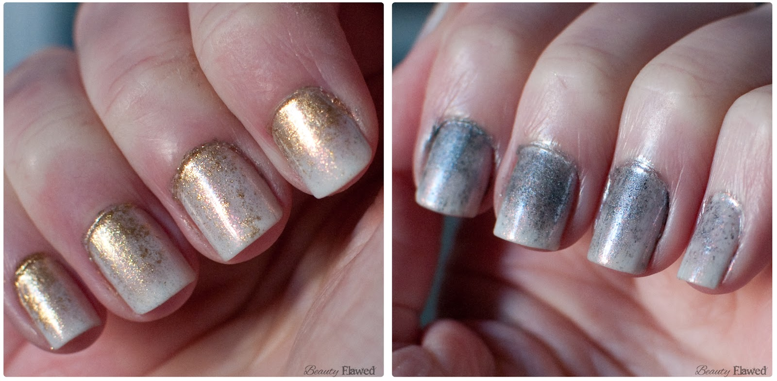 New Years Nails using Pigments | Beauty Flawed