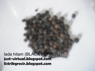 lada hitam black pepper