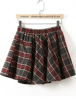 http://www.shein.com/Green-Red-Elastic-Waist-Plaid-Flare-Skirt-p-181096-cat-1732.html?utm_source=thecherryblossomworld.blogspot.com&utm_medium=blogger&url_from=thecherryblossomworld