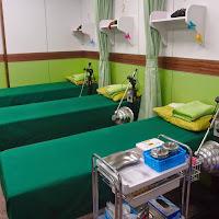 每日清潔的診療針灸床