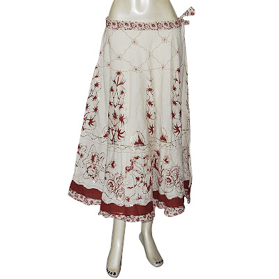 Long Skirt  Handmade Cotton Dresses from India