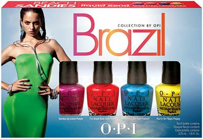 Kit de esmaltes Brazil Collection by OPI Beach Sandies