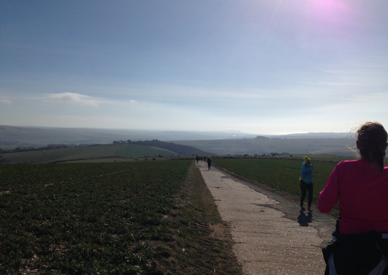 FitBits - South Downs Way - RunBrighton - Brighton Marathon Training
