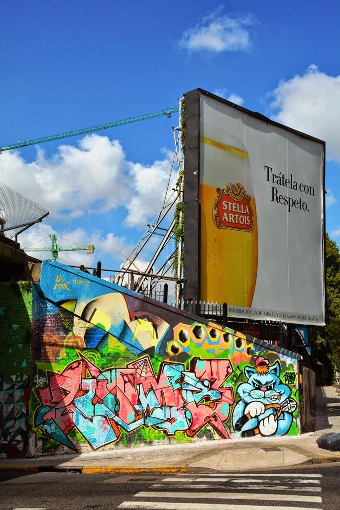 Graffiti Buenos Aires Stella Artois