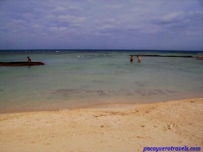 Playa de Riviera Maya tras el Huracan Wilma