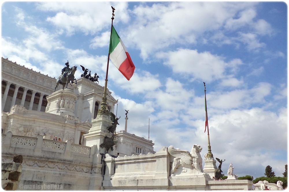 Monumento a Victor Manuel II Italia Roma